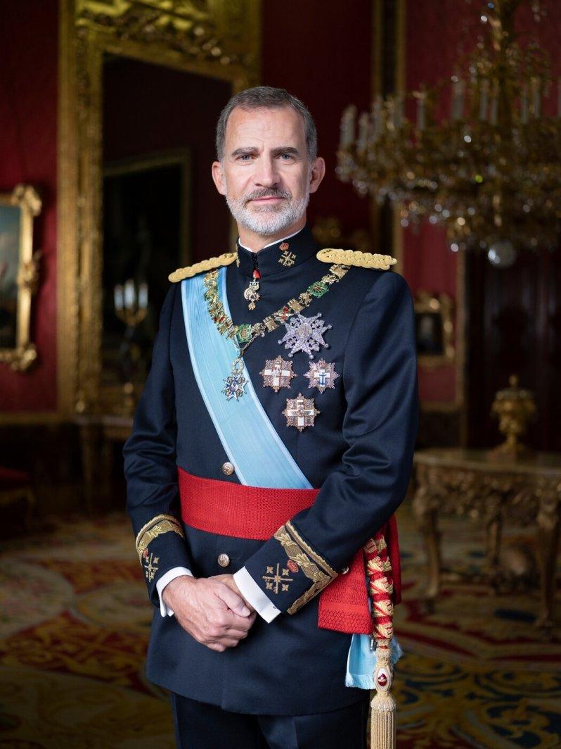 Seit 2014 sitzt König Felipe auf dem spanischen Thron und hat immer wieder mit Krisen im Land zu kämpfen.  © Casa de S.M. el Rey, Estela de Castro