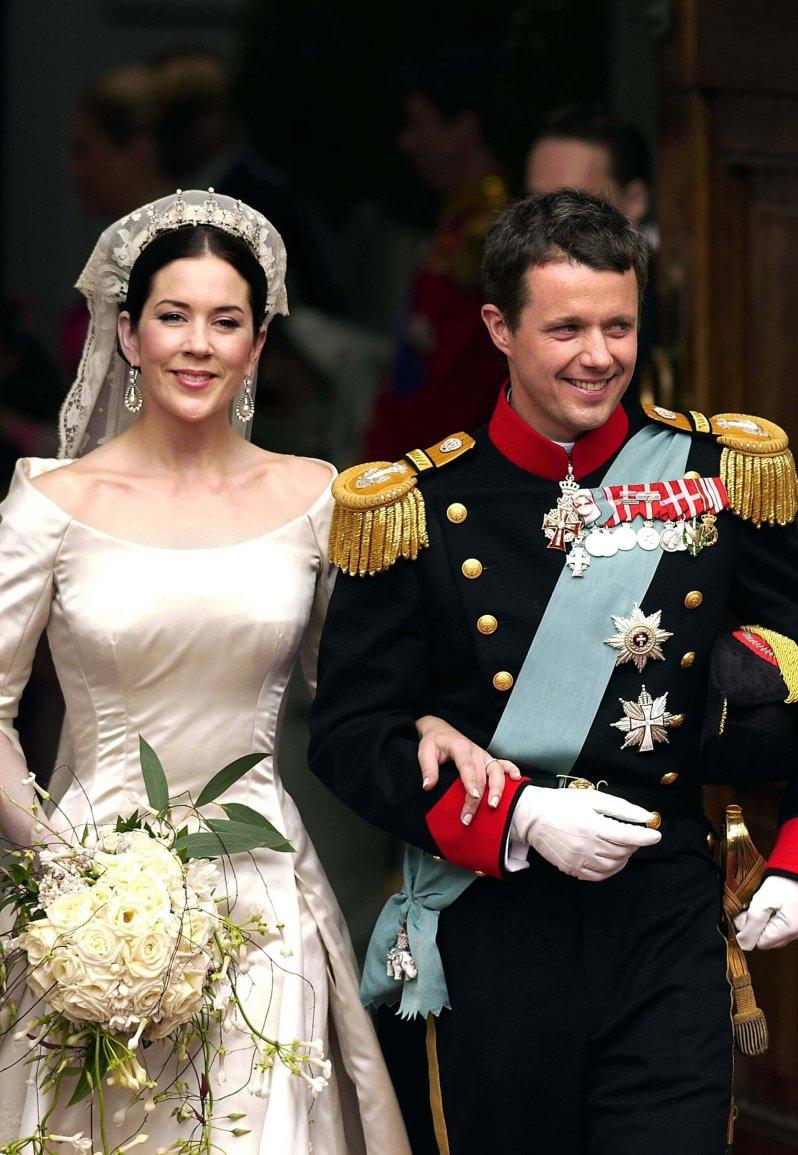 Kronprinzessin Mary: Das Geheimnis ihres Brautkleides -