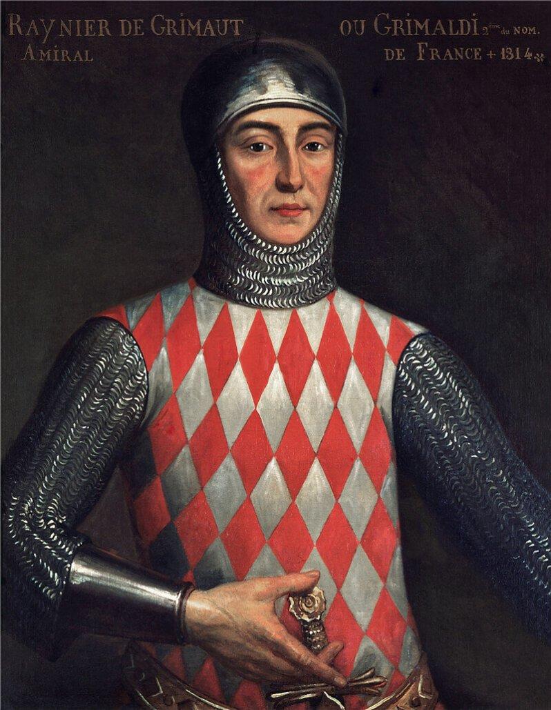 Raniero Grimaldi vergewaltigte eine schöne Flämin, die ihn und all seine Nachfahren daraufhin verfluchte. © Public Domain