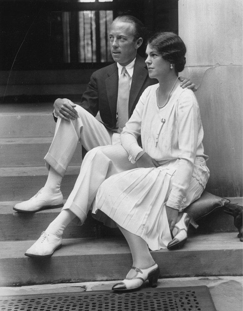 Folke und Estelle Bernadotte kämpften gemeinsam für den Frieden. Für seine Überzeugung zahlte der Diplomat einen hohen Preis.  © picture alliance/IMAGNO