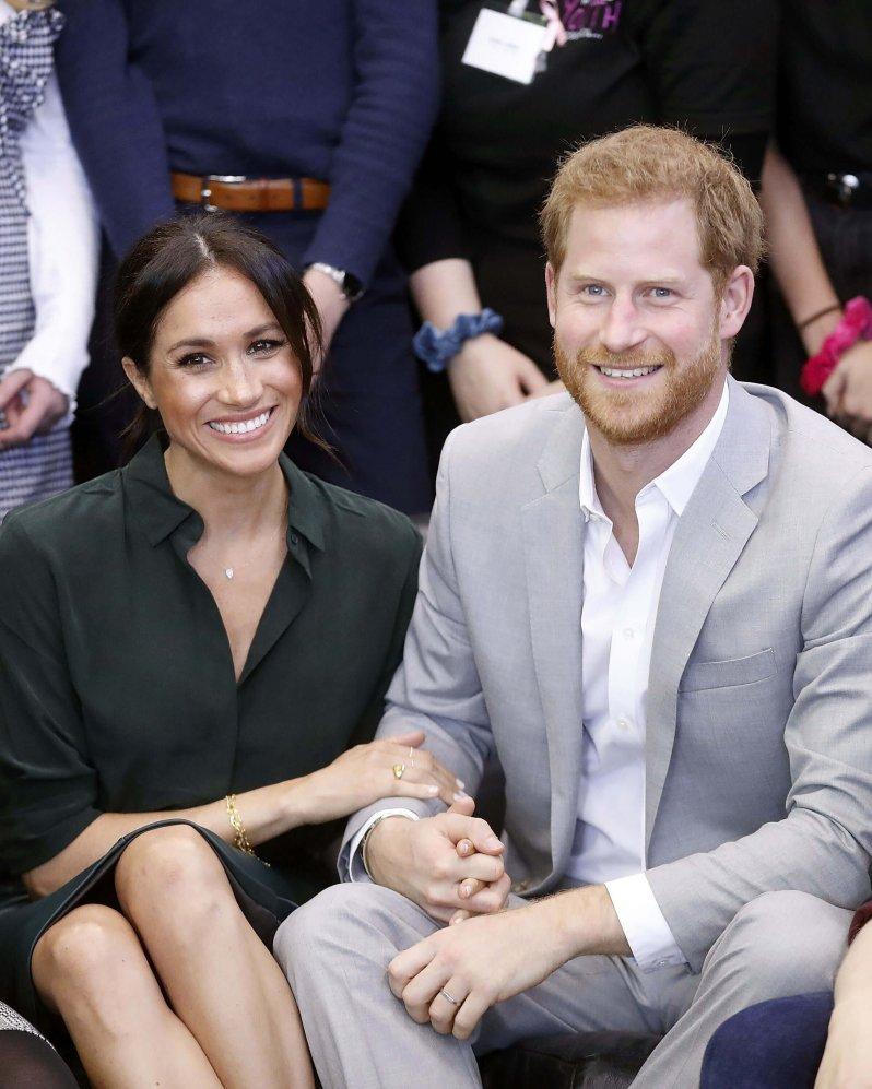 """Herzogin Meghan und Prinz Harry arbeiten an ihrer Wohltätigkeitsorganisation """"Archewell"""". Der Name hat eine besondere Bedeutung. © picture alliance / Photoshot"""