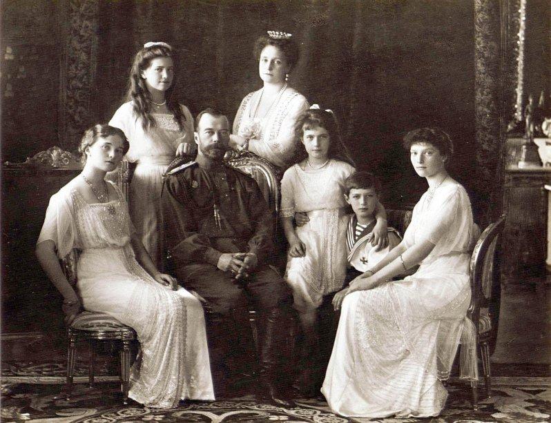 Die russische Zarenfamilie