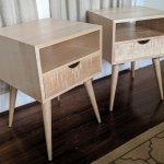 Mid Century Modern Side Tables Vanvleet Woodworking