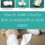 Washcloth Bunnies Crafty Staci