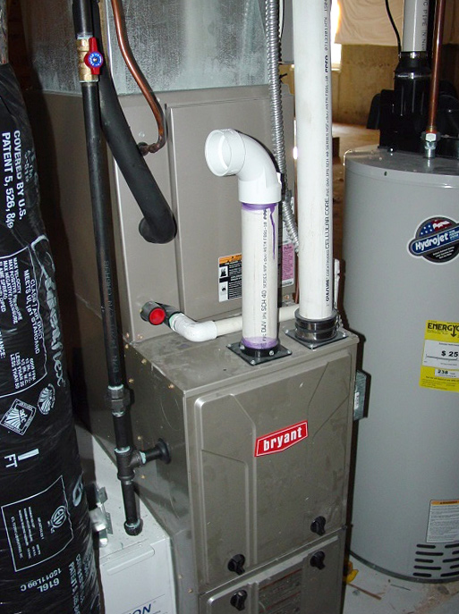 ensure your furnace is properly vented