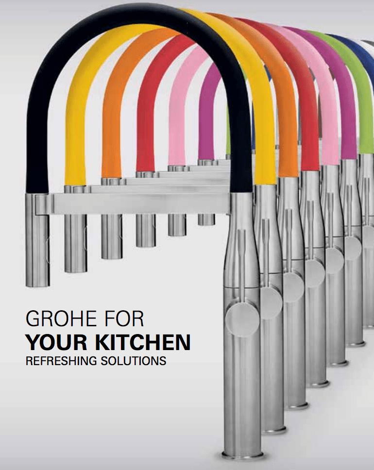 most colourful faucet grohe essence