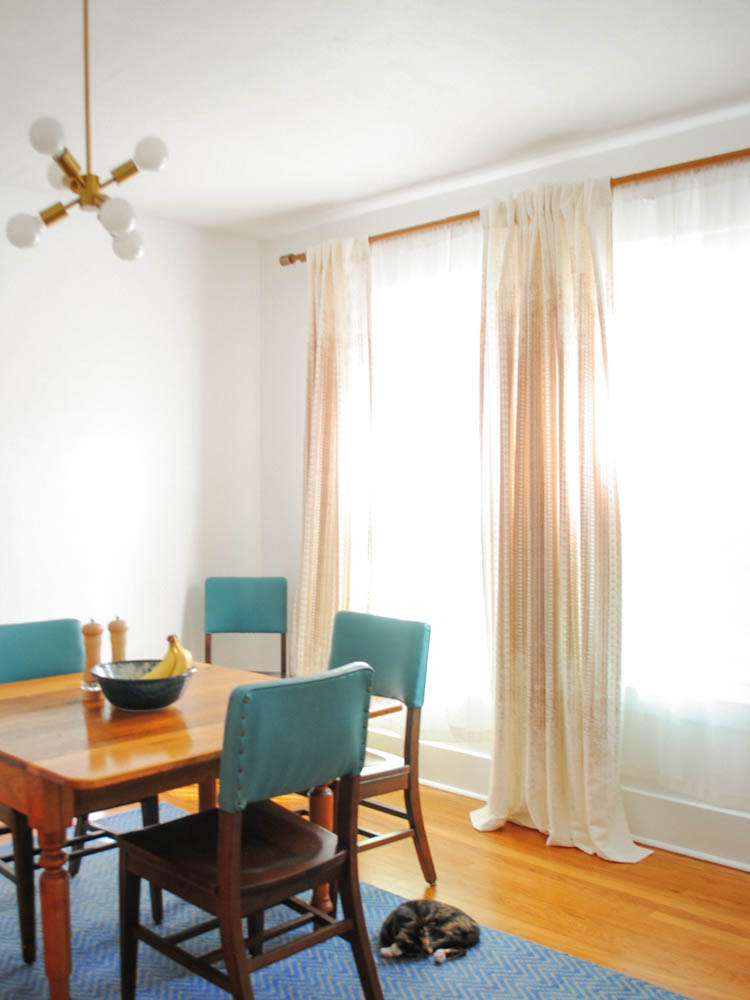 before and after dining room salt
