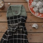 New Free Crochet Pattern For An Easy Towel Topper Megmade With Love