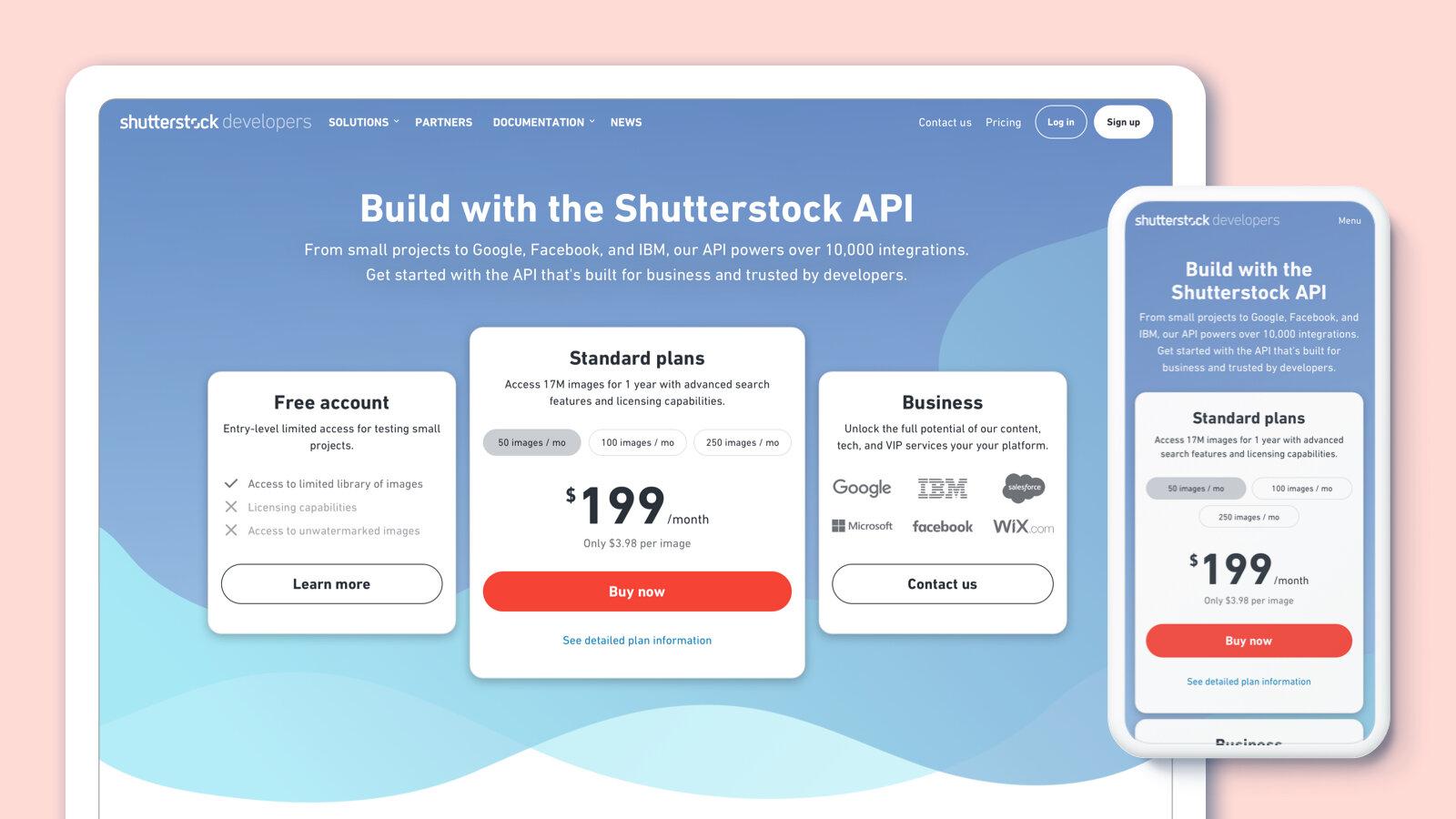 Matthew Gottesman - Shutterstock API Purchasing Flow — MATTHEW ...
