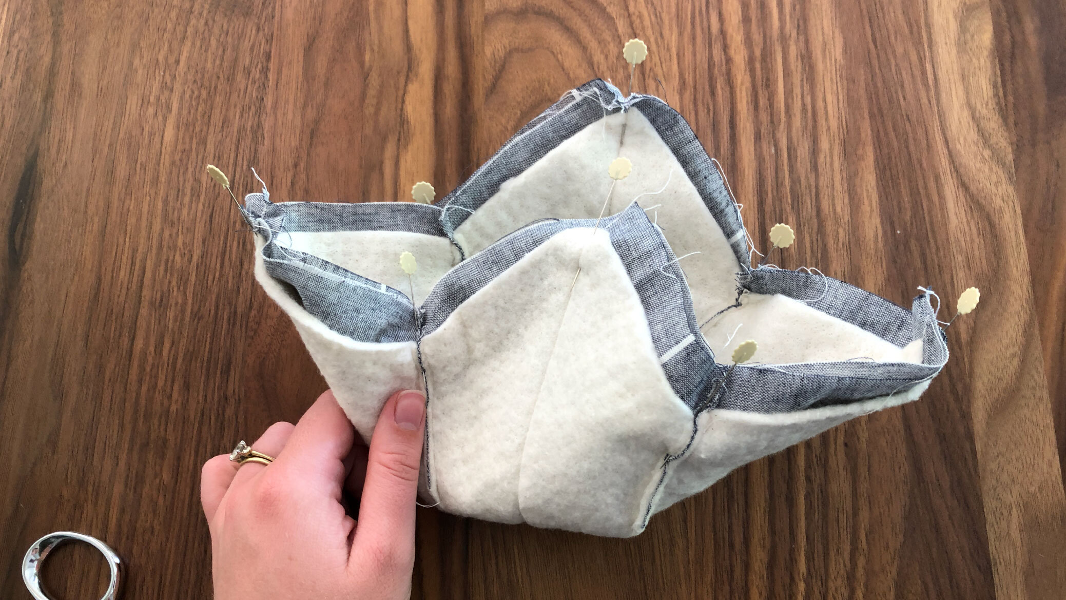 how to make a bowl cozy free pattern