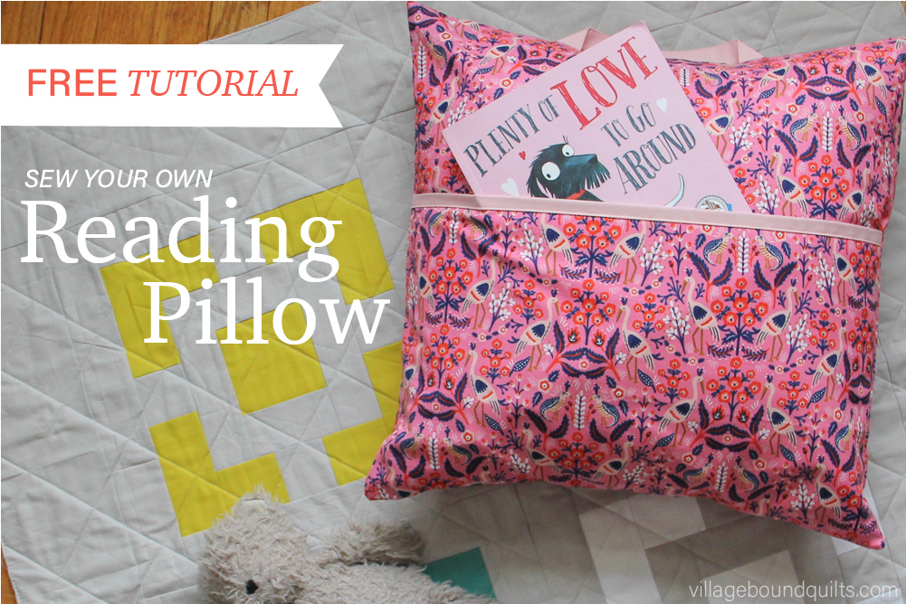 easy reading pillow village bound quilts