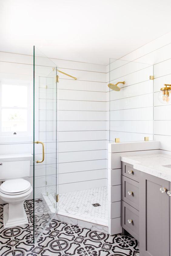 shiplap shower savvy interiors