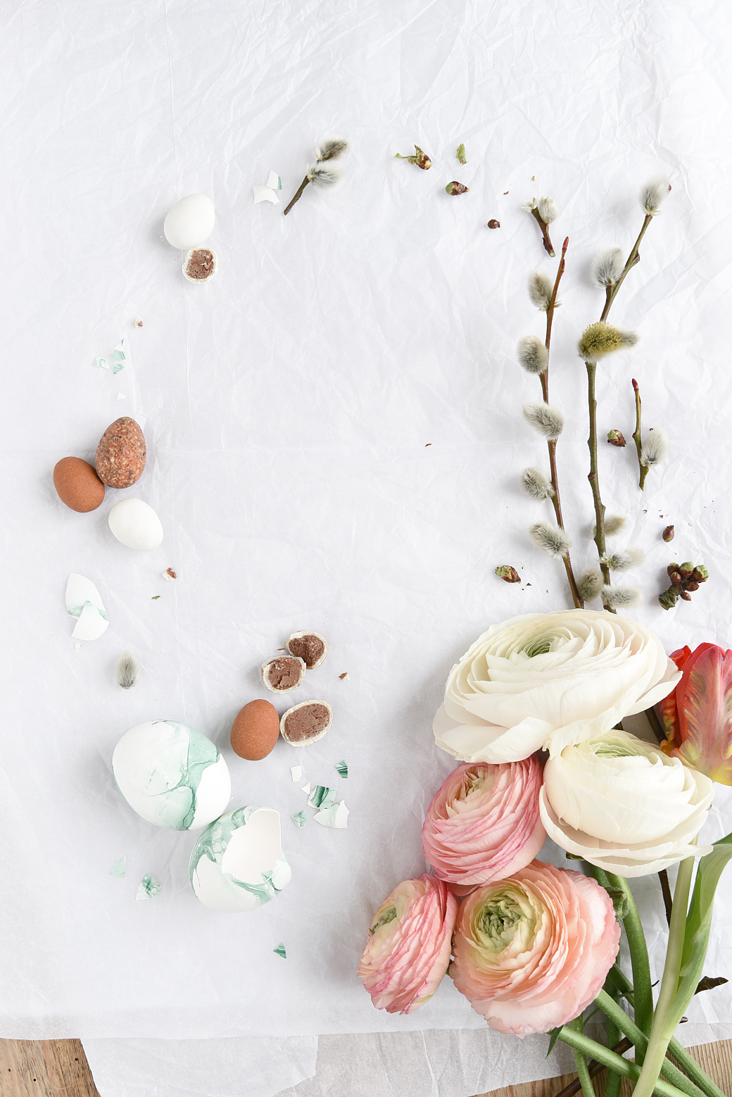 6 diy easter tabletop ideas and a