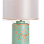 Bumble Bee Table Lamp Black And Gold Or Duck Egg Blue Halidon Home Furniture Home Interiors Shop Edinburgh