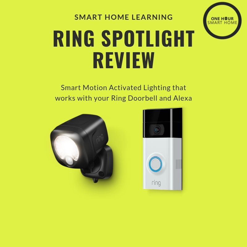 ring smart lighting spotlight review