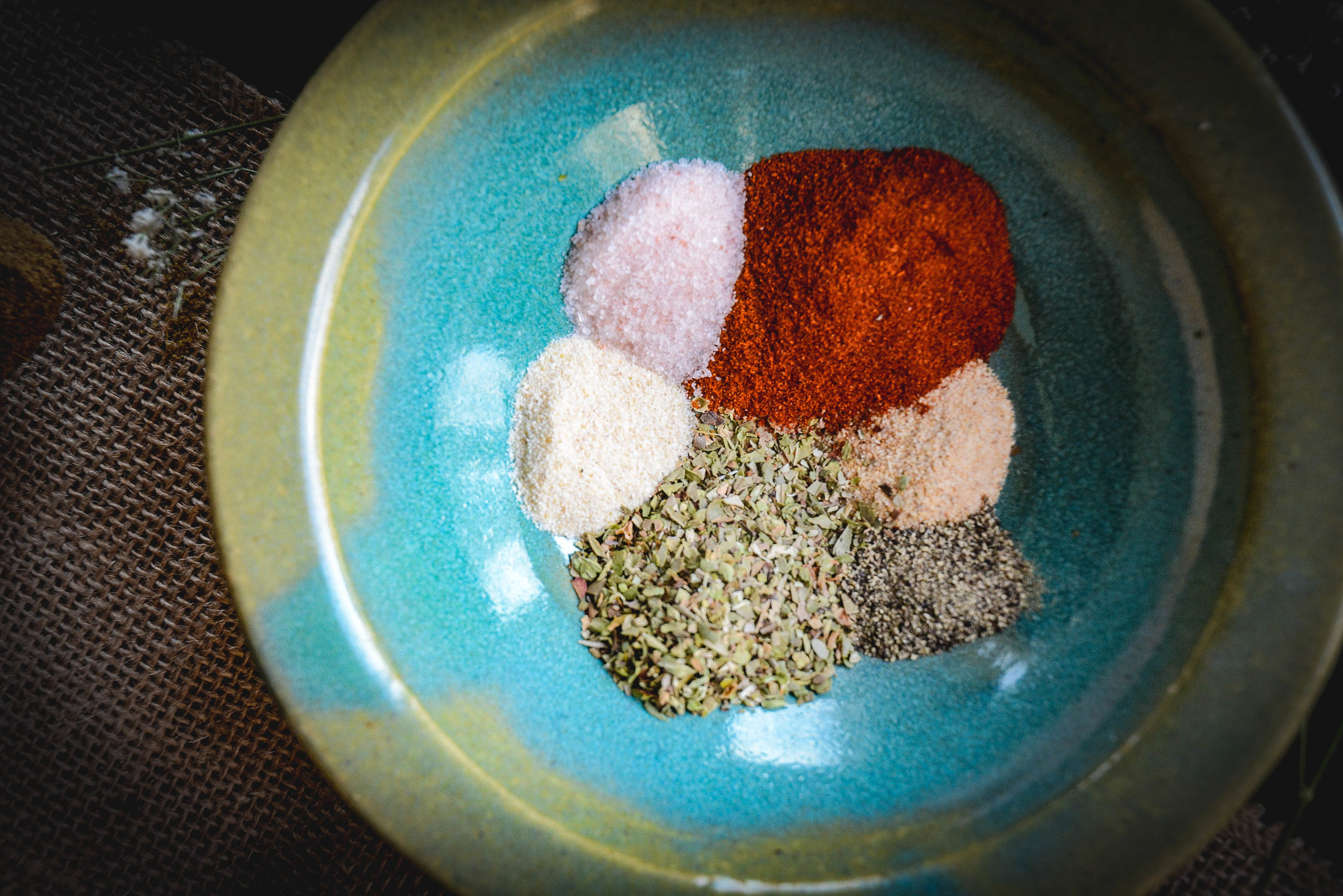 spices in bowl