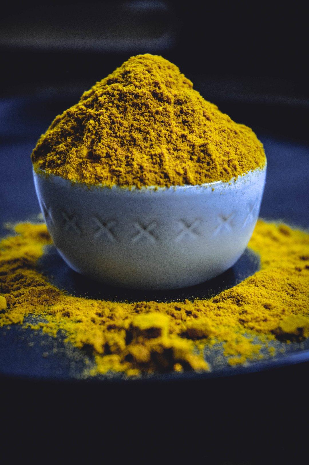 turmeric in bowl
