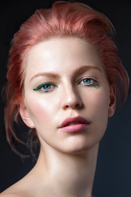 Image: Kass Bruni | Makeup: Sjaniël Turrell | Muse: Violet Gould from the editorial,  The Future is Green