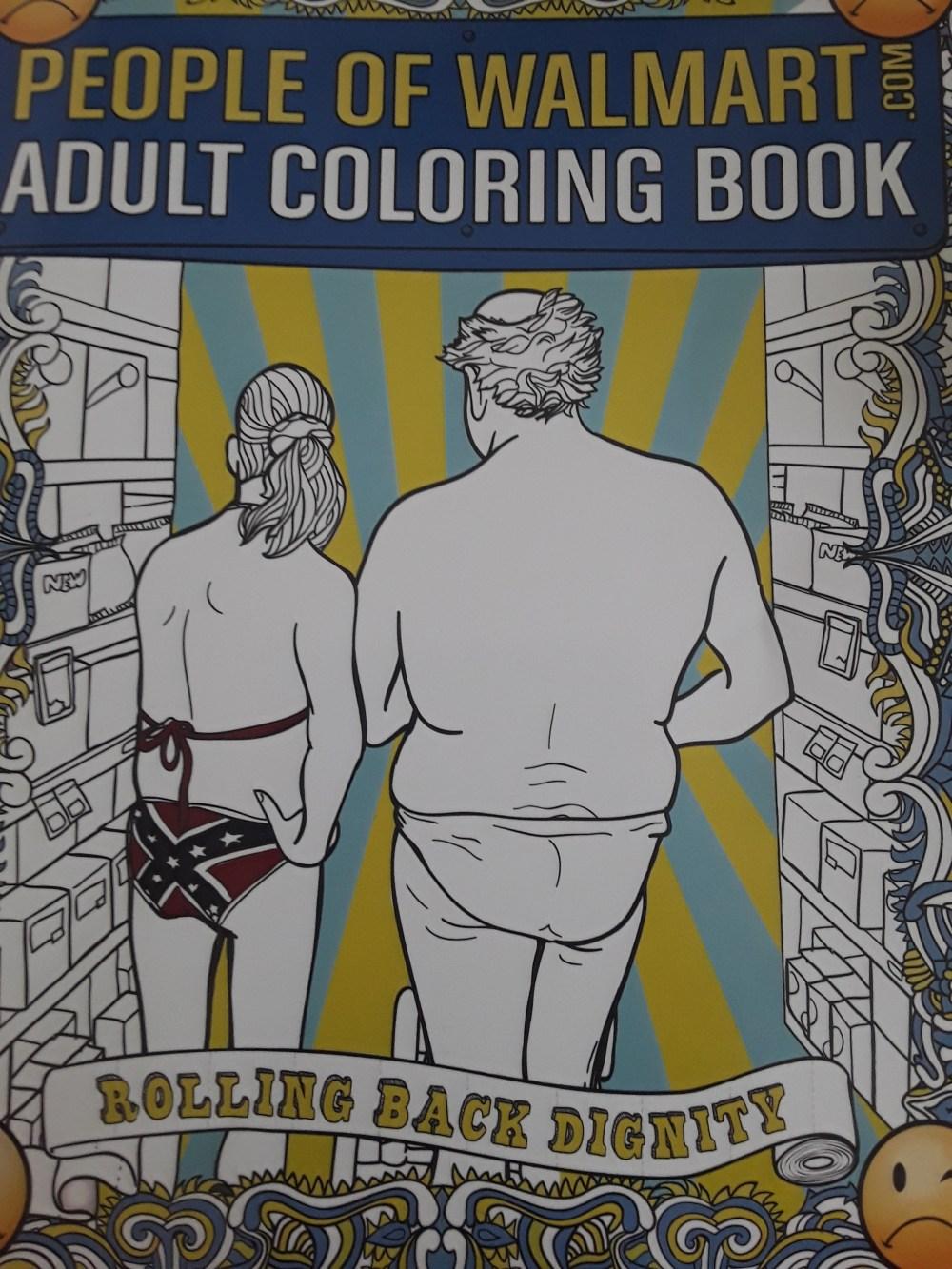people of walmart adult coloring book — pumkinfish