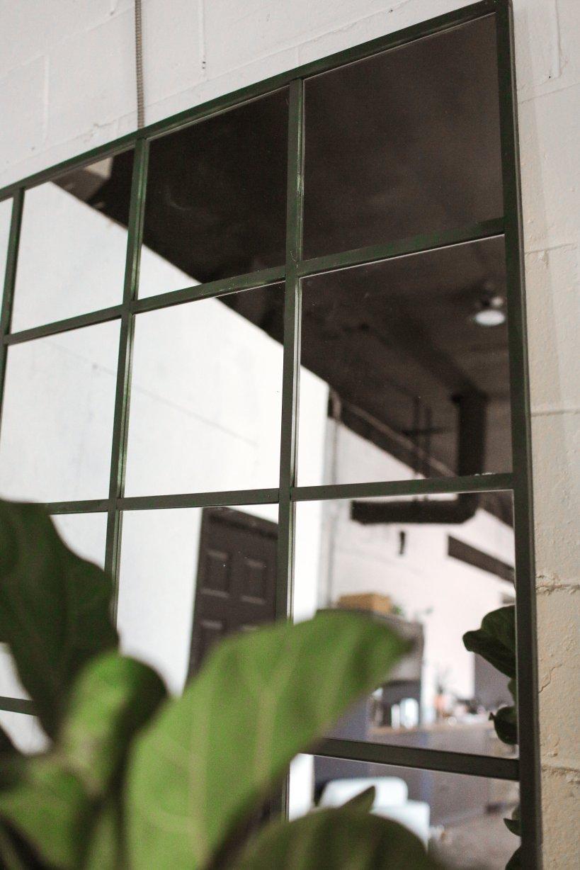 DIY para espejo de estilo industrial