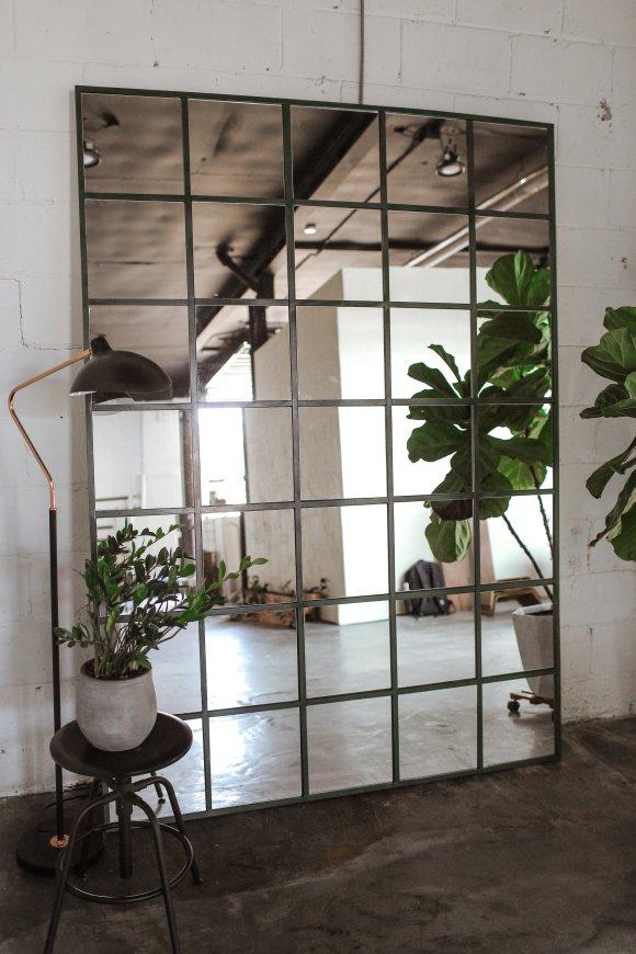 DIY para espejo estilo industrial
