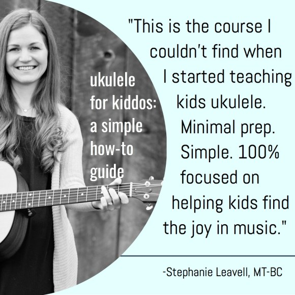 Online Course + Workbook: Ukulele For Kiddos-- A Simple How-To ...