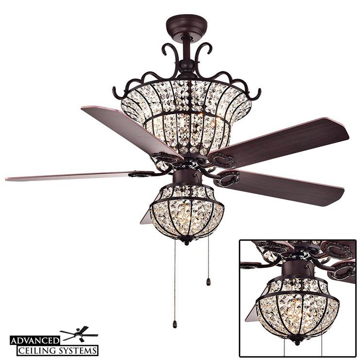 5 unique shabby chic ceiling fan