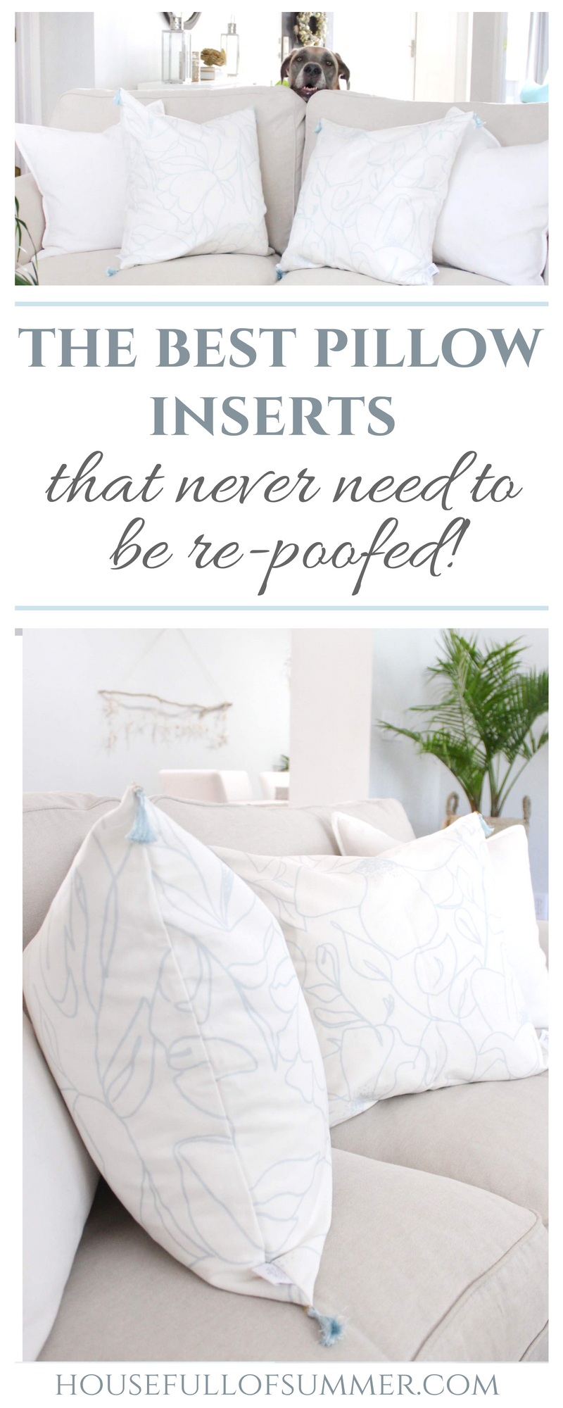 the best throw pillow inserts that