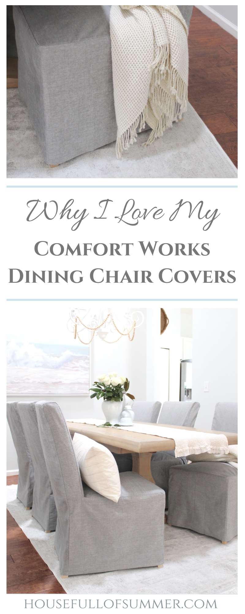 Why I Love My Comfort Works Dining Chair Covers House Full