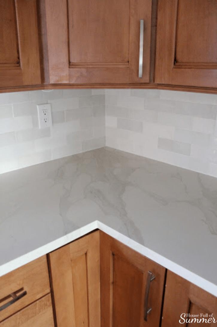 kitchen remodel progress fixtures