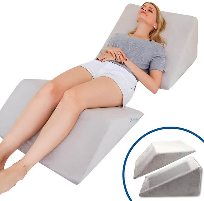 top sleeping wedge pillows to help with