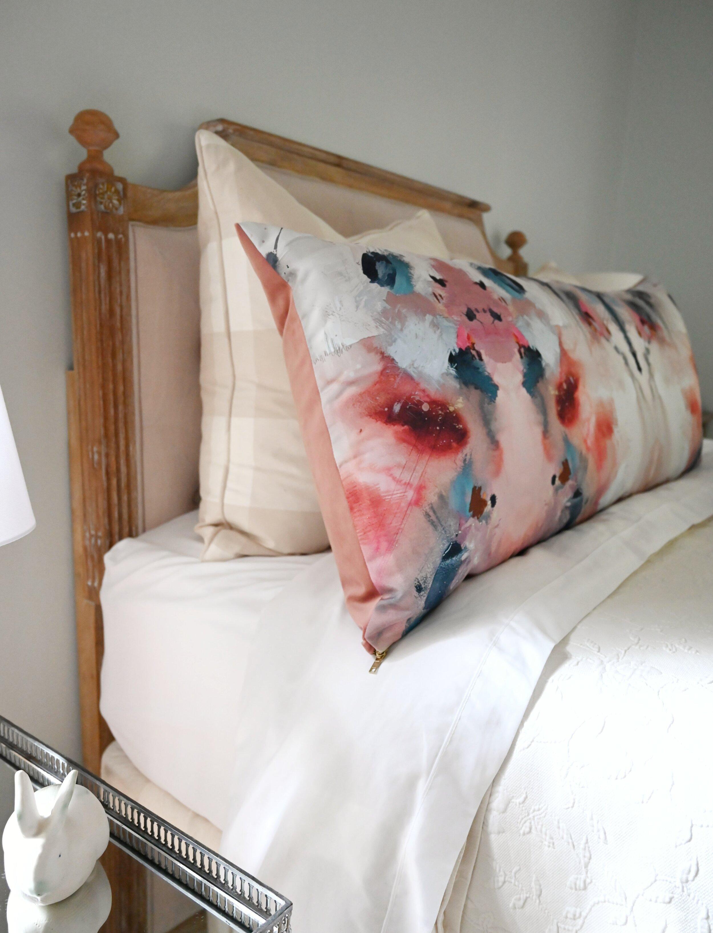 netherland red body pillow cover backorder whitney winkler art