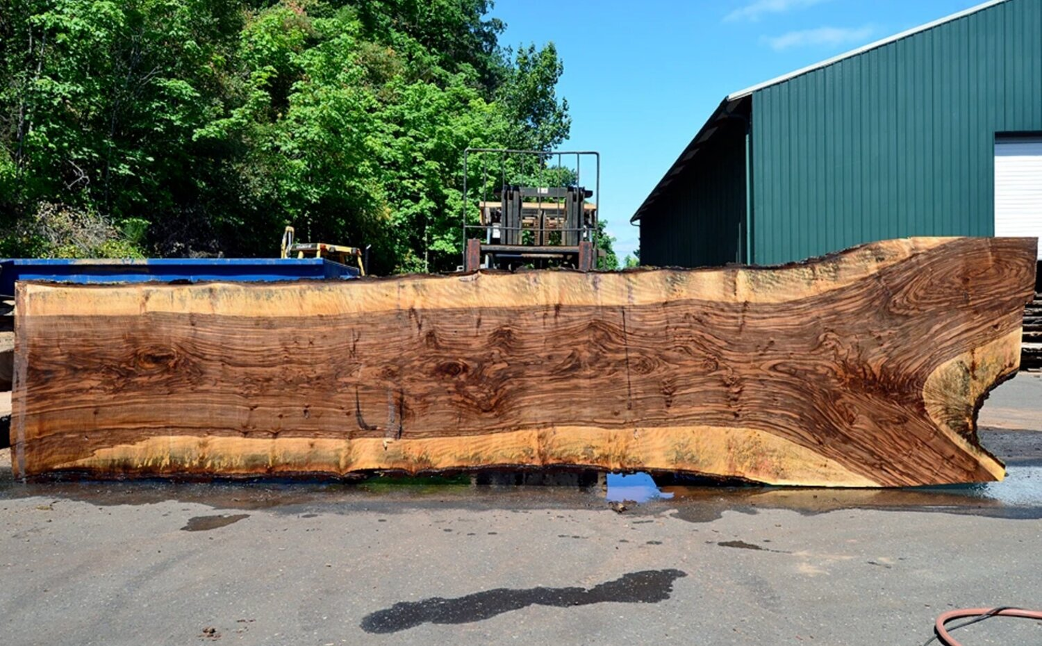how to make a live edge wood table