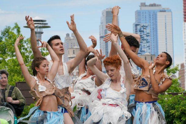 Performance at Battery Park