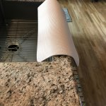 Beige Kitchen Edge Granite Sink Guard Guards Kitchen Sink Edge From Chipping And Water Damage 12 In Width X 27 In Length Tm 4 Copyright 2019 Comfy Kitchen Creations