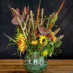 Diy Fall Bouquet With Fresh Dried Flowers Bindle Brass Trading Company