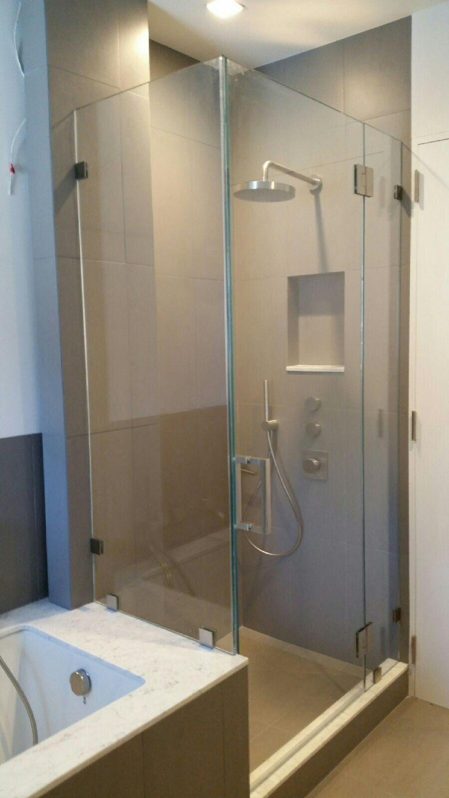 Shower Tub Bath Capitol Glass