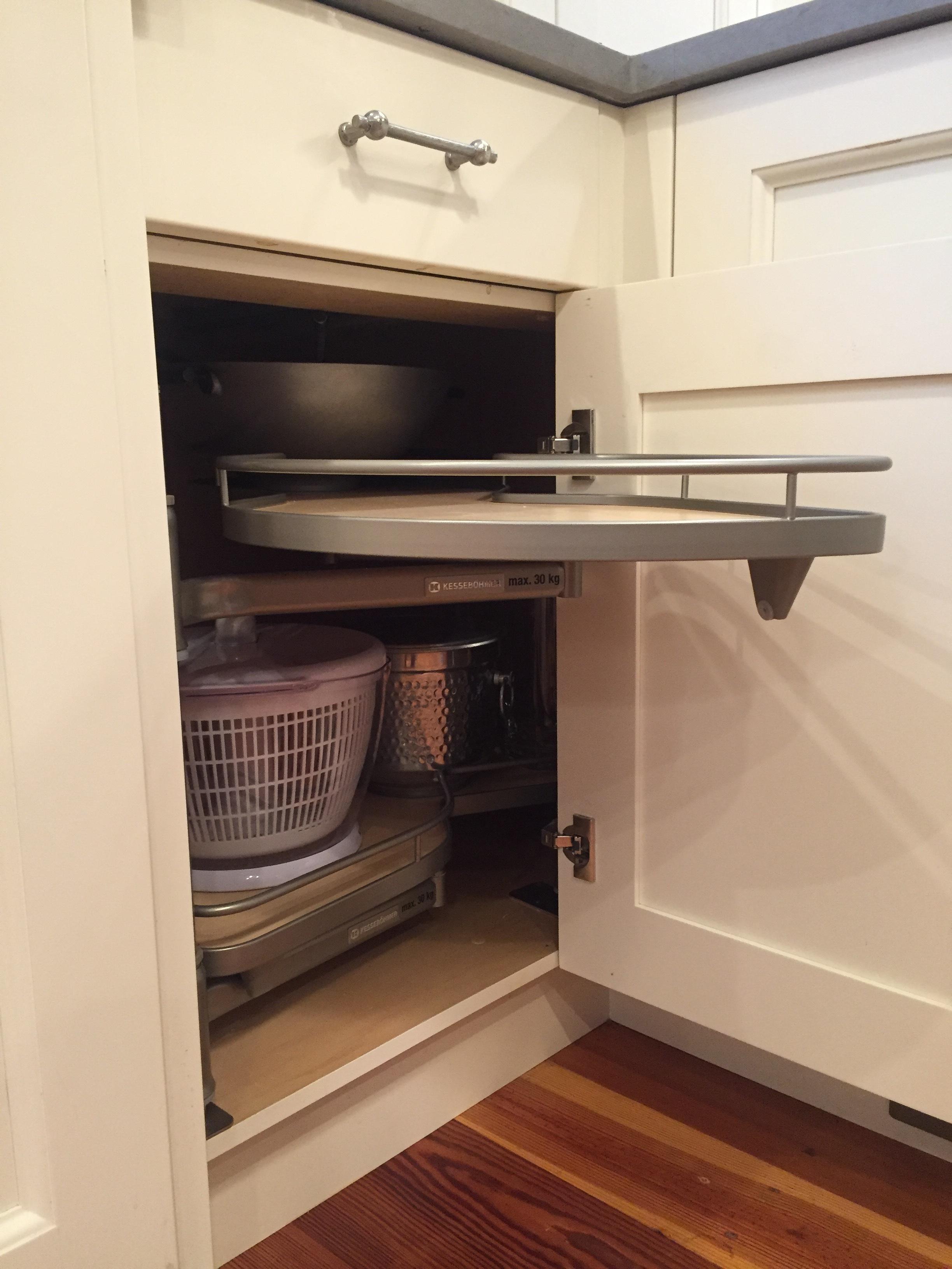 No More Deep Dark Cabinet Corners E L Designs