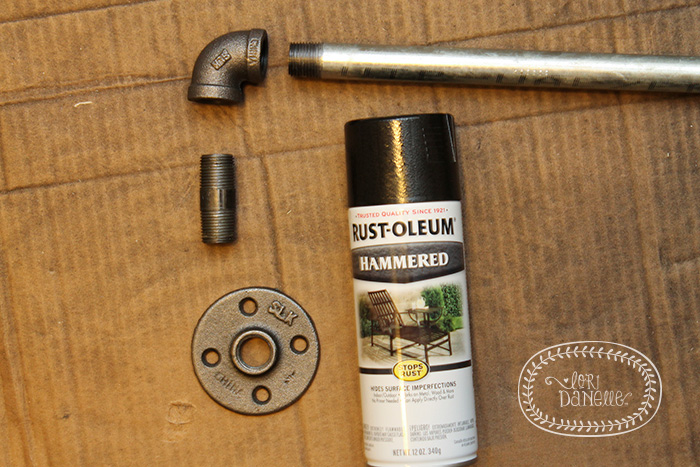 diy industrial curtain rods home