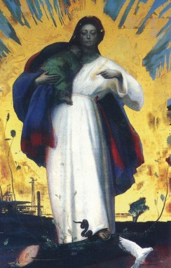 Pietro Annigoni: Immaculate Heart of Mary — Art+Christianity