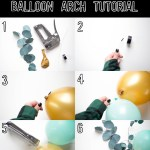 Balloon Arch Diy Tutorial The Ever Co