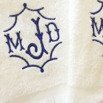 Lounge Chair Covers And Cover And Towel Set Modern Monogramming
