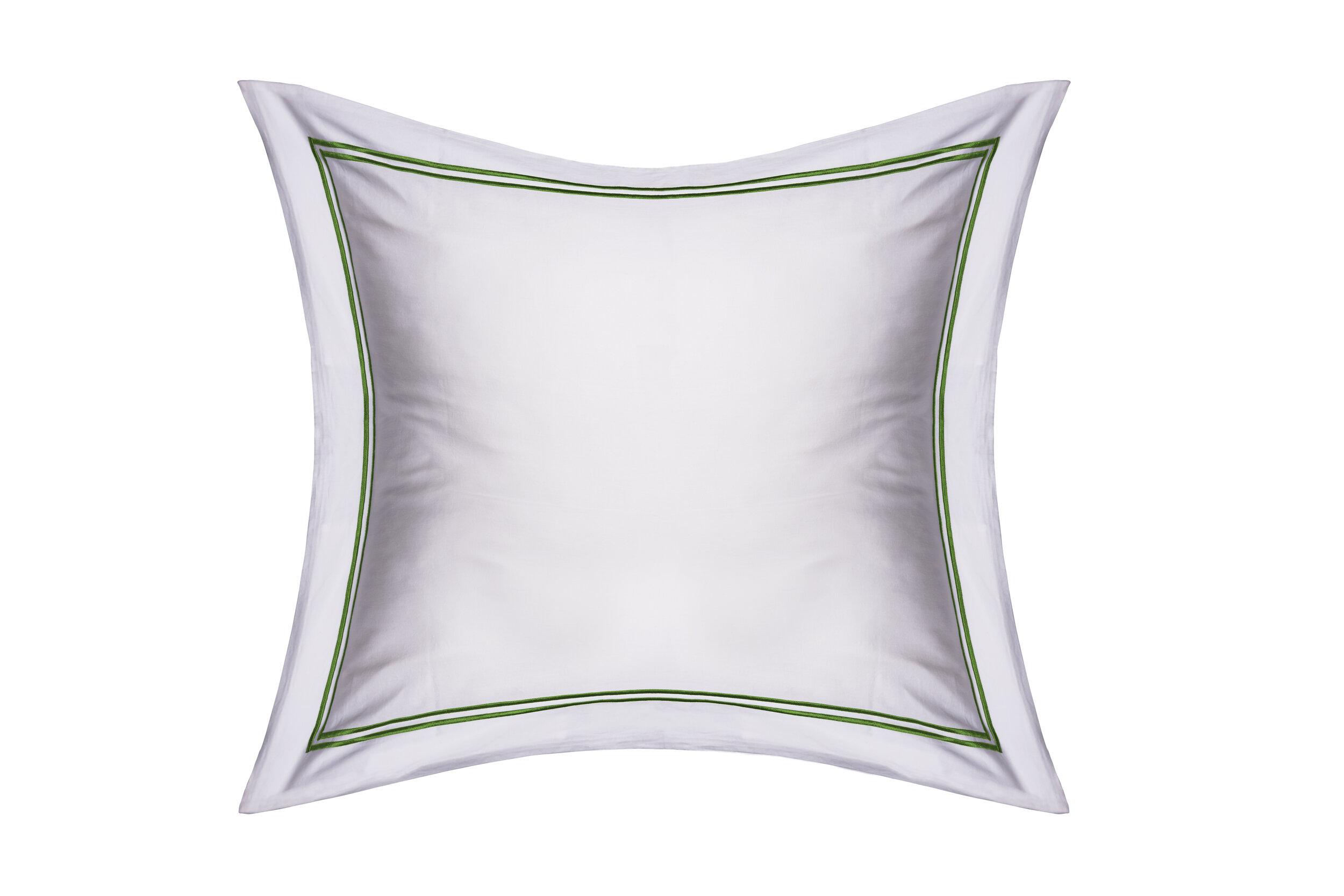 emerald green pillowcases the cotton poet