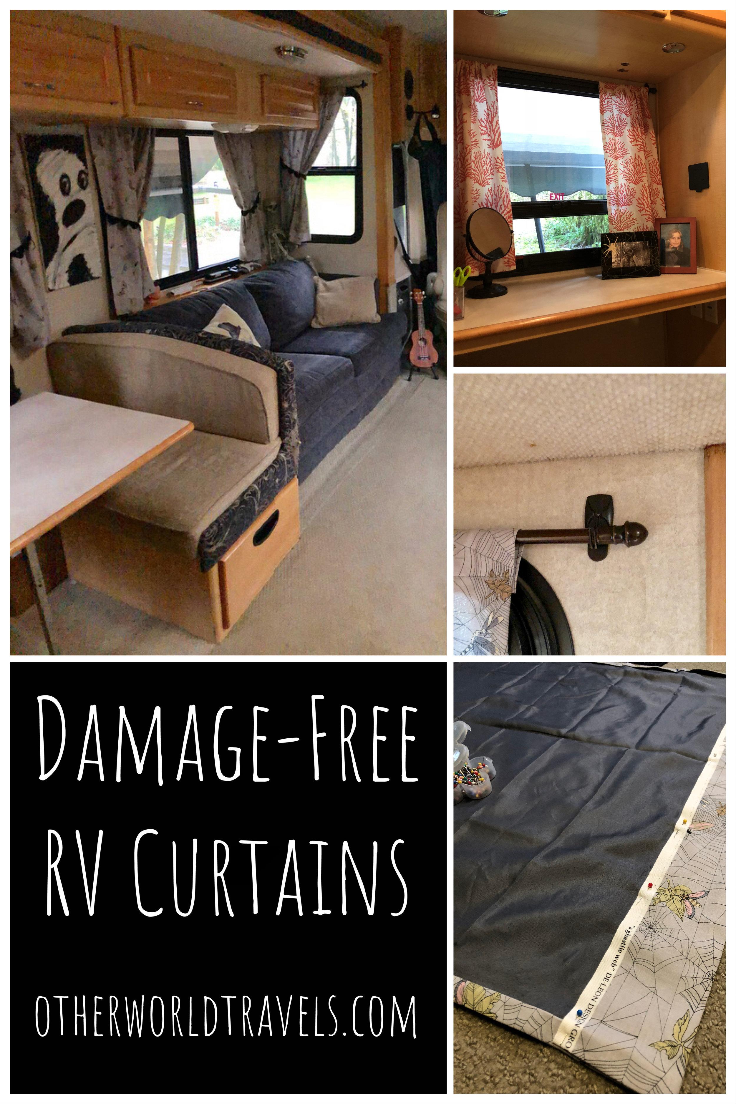 damage free rv curtains otherworld