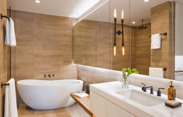 3 alternatives to bathroom tiles every