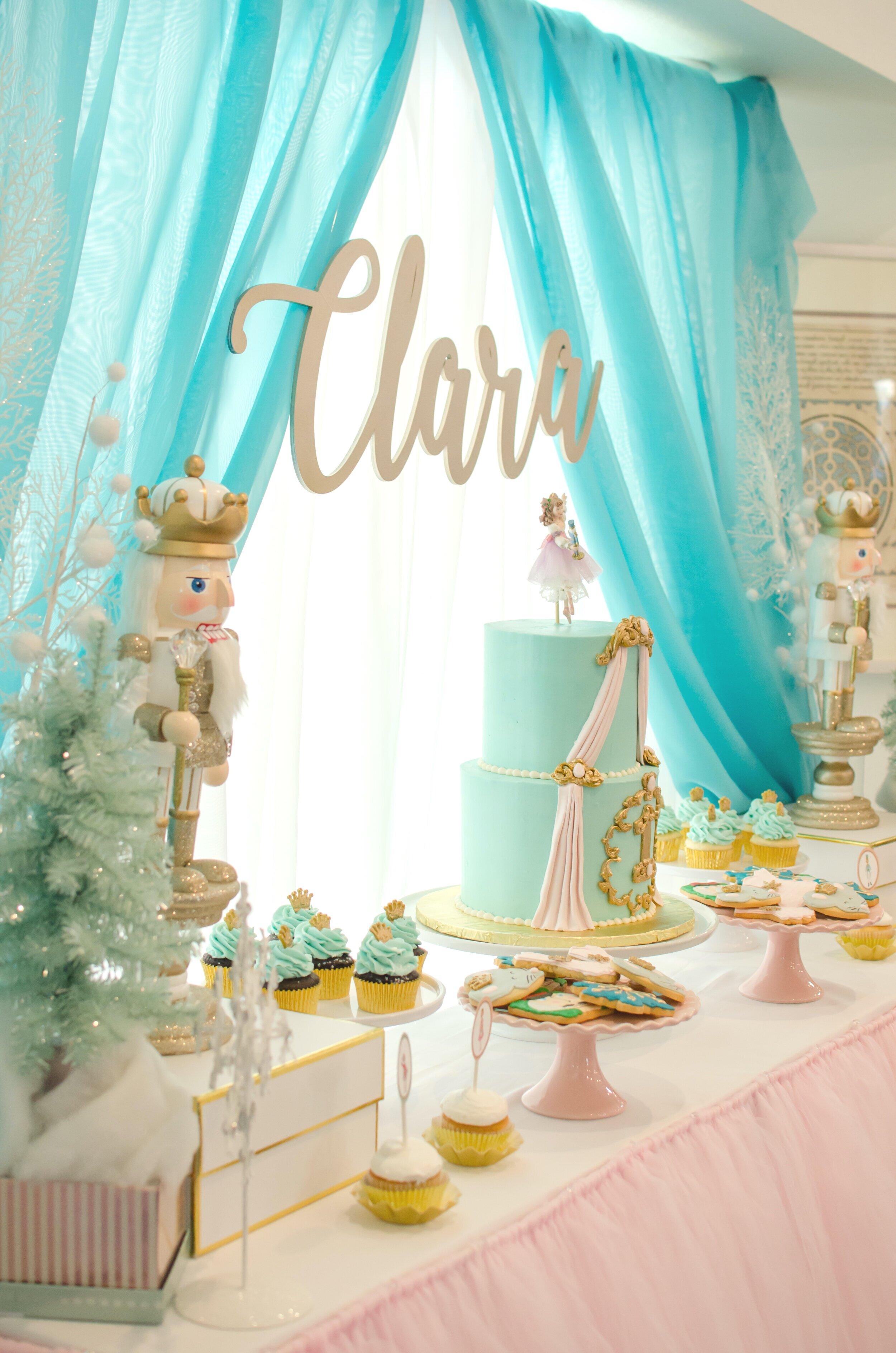 a nutcracker themed birthday party
