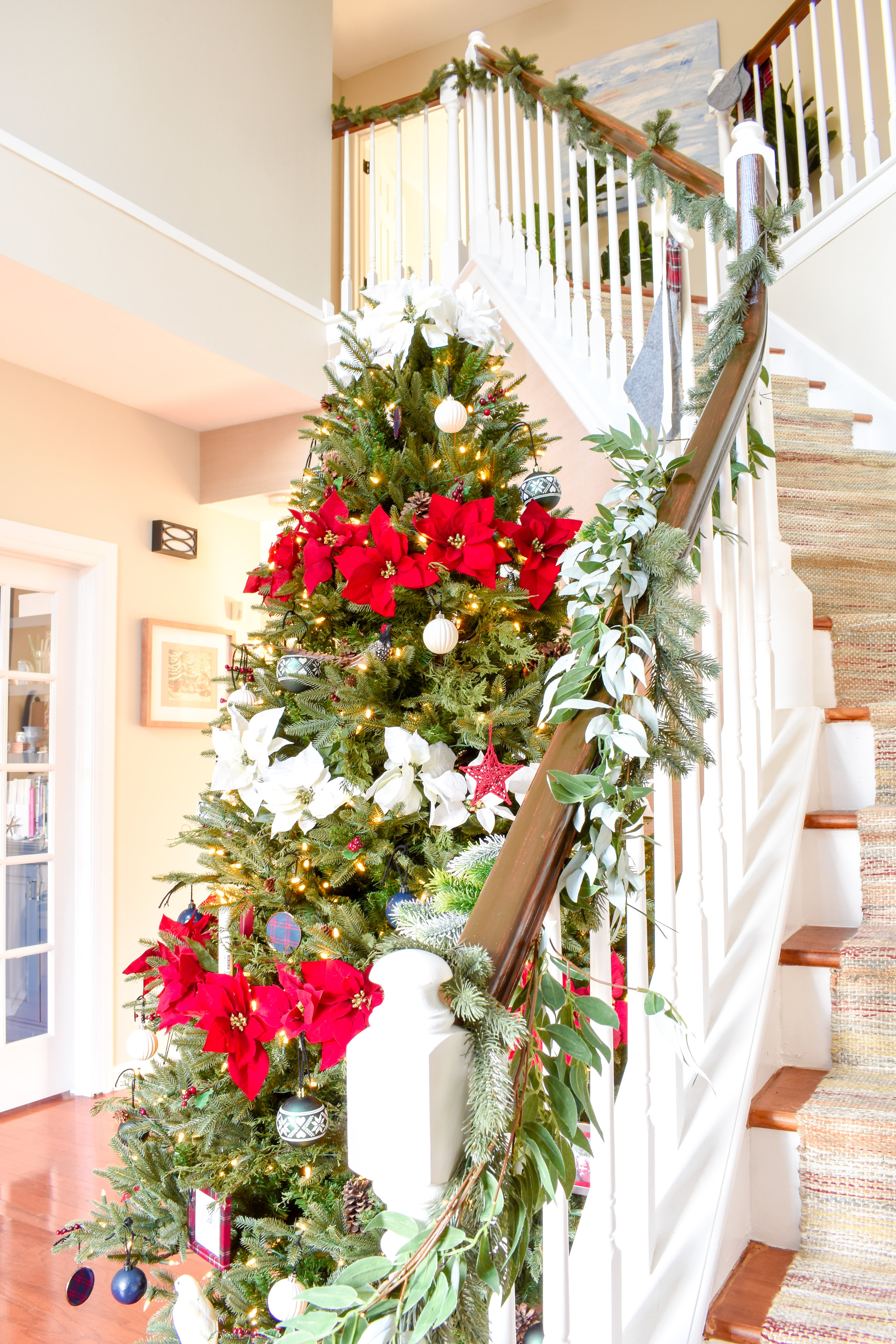 My Christmas Home Tour How To Decorate With Traditional