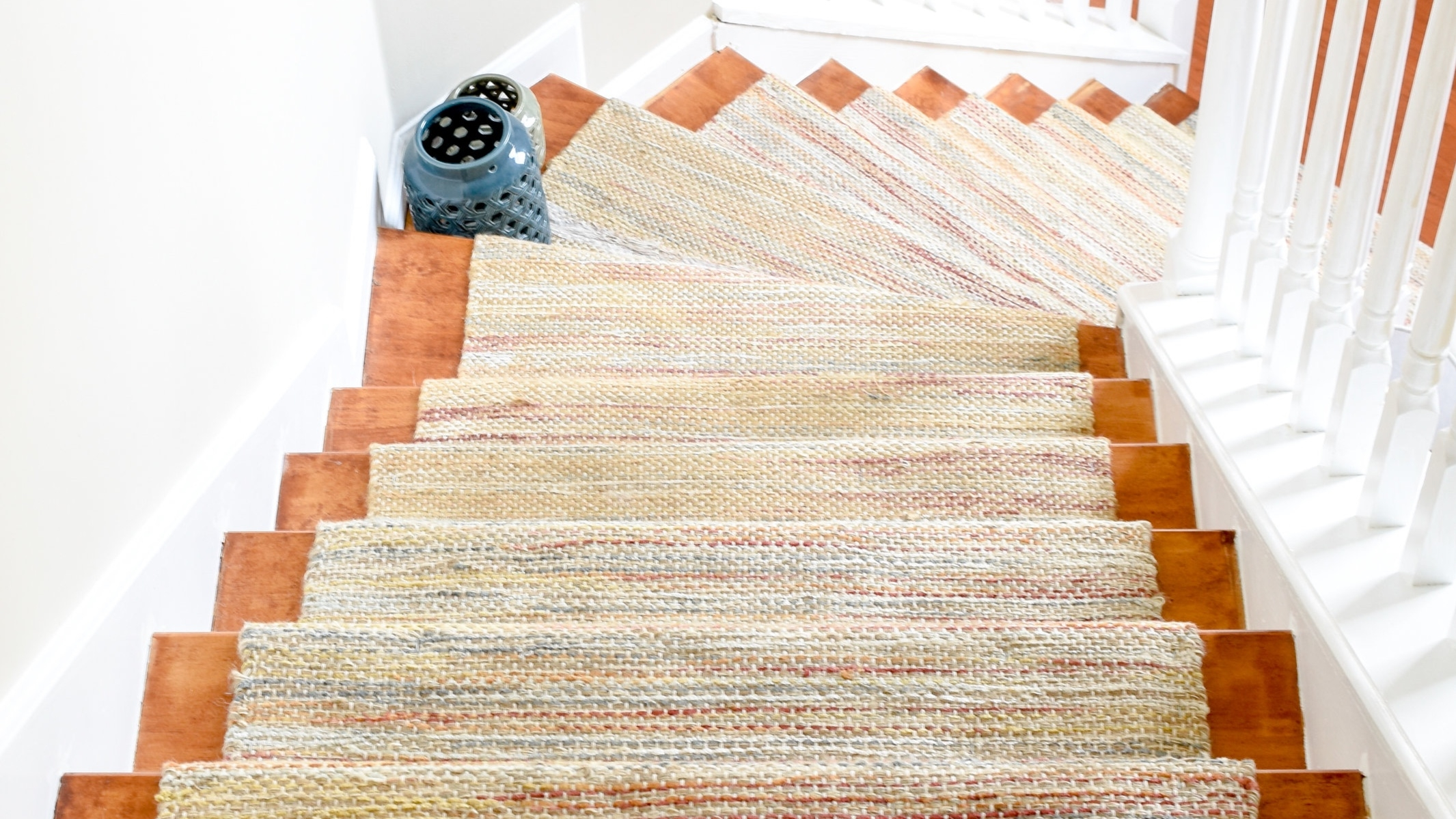 Diy Hardwood Staircase Makeover Replacing Carpet With Wood Treads | Converting Carpeted Stairs To Wood | Stair Tread | Staircase Makeover | Laminate Flooring | Wood Flooring | Risers