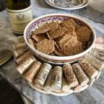 Diy Upcycled Wine Cork Wreath Or Trivet Yarn Scissors Silk