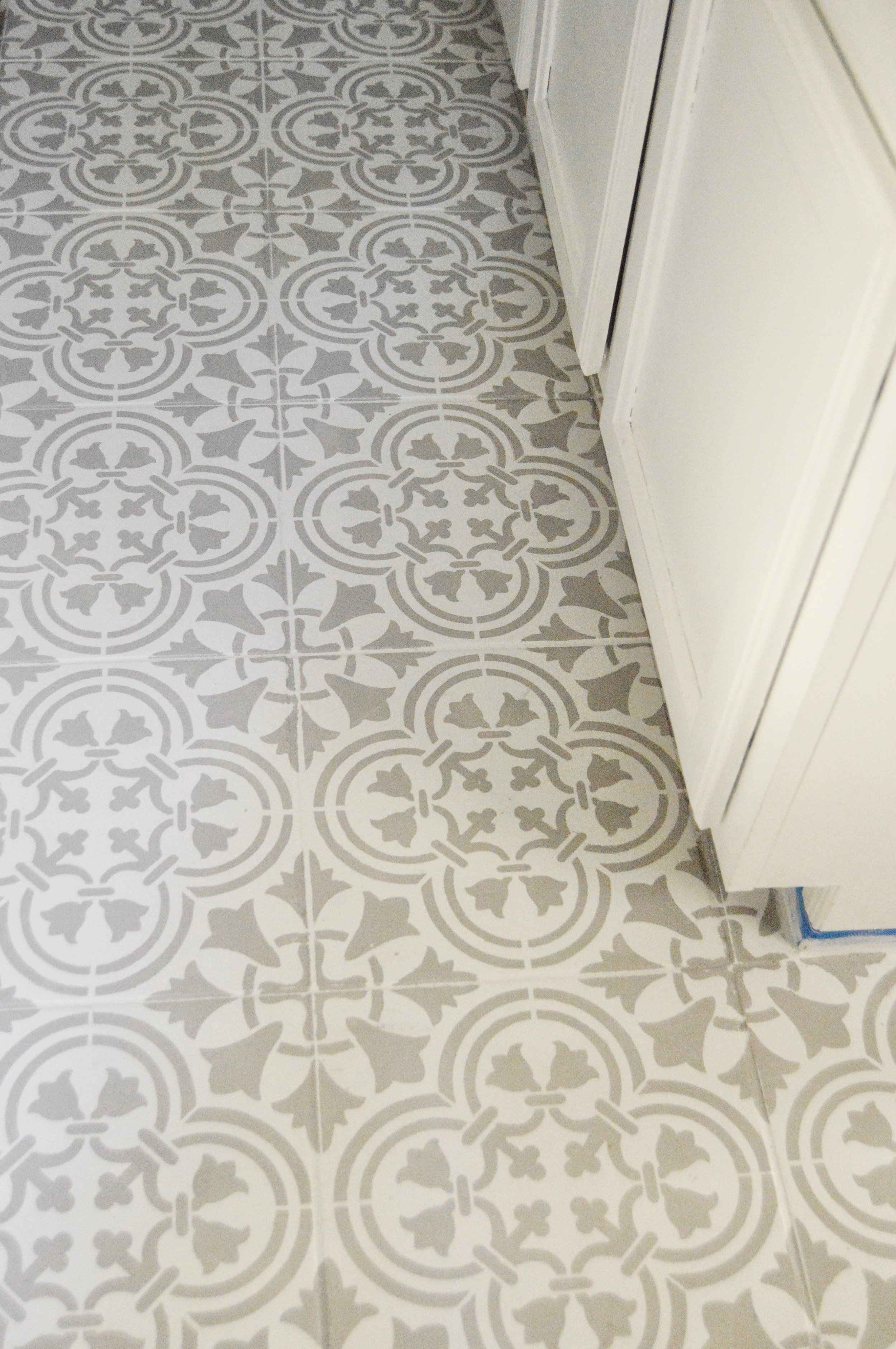 ideas for covering up tile floors